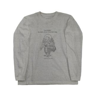 迦楼羅神_ Long sleeve T-shirts