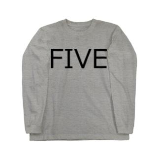 たまに見るアレ風FIVE Long sleeve T-shirts