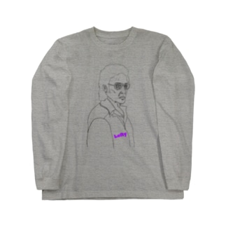 左利き Long sleeve T-shirts