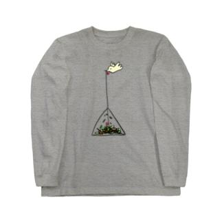 テトラポットバード Long sleeve T-shirts