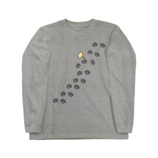 足跡 Long sleeve T-shirts