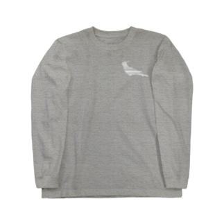 オカメインコ白+ Long sleeve T-shirts