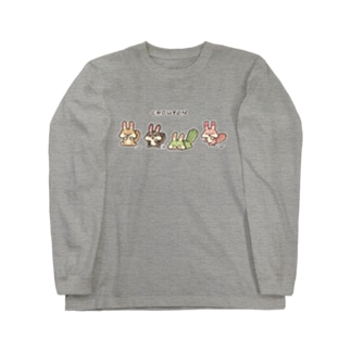クルトンfriends【白フチ有】 Long sleeve T-shirts