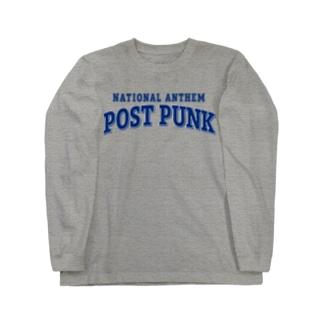 コレクトーンのNational Anthem POST PUNK Long sleeve T-shirts