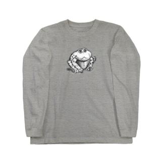 カエルのゲコたん#シンプルイズベスト Long sleeve T-shirts