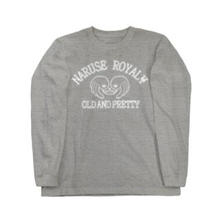 ロイヤルOLD AND PRETTY デカロゴ Long sleeve T-shirts