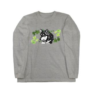黑柴 Long sleeve T-shirts