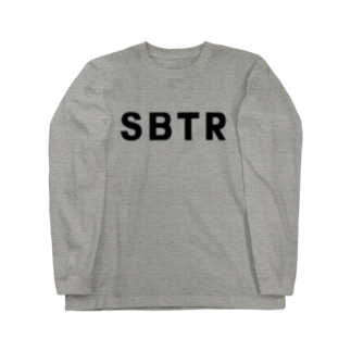 SHOP W SUZURI店のSBTR ロングスリーブTシャツ。 Long sleeve T-shirts