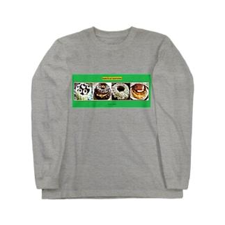 手作りケーキシリーズ Long sleeve T-shirts