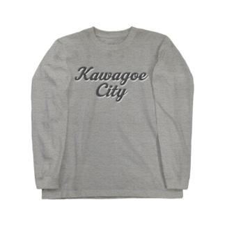 KAWAGOE CITY Long sleeve T-shirts