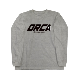 ORCA ロゴ Long sleeve T-shirts
