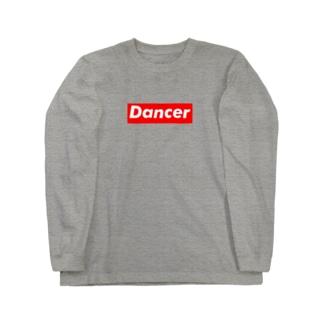 Dancer ダンサー  ボックスロゴ  Long sleeve T-shirts