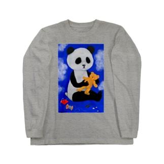 PANDA No.2 Long sleeve T-shirts