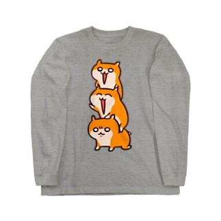 クソハムトリオ Long sleeve T-shirts