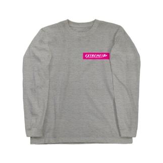 ドッグスポーツ・エクストリームロゴ(横長) Long Sleeve T-Shirt