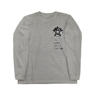 GOCロゴグッズ-黒[SCP Foundation] Long sleeve T-shirts