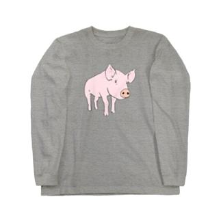 ぶたさん Long Sleeve T-Shirt