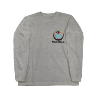 フリーメイソンパクリロゴ(めでブロVer.) Long sleeve T-shirts