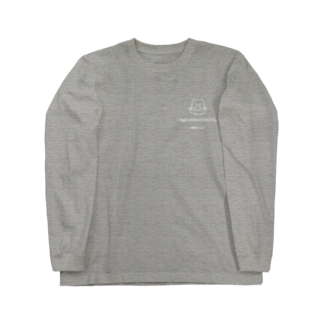 kef Illustrationsのお箸アニマル Long sleeve T-shirts