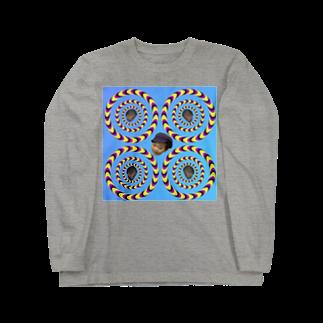 まっちゃんのブタ屋のダブルハムブラザーズグッズ Long sleeve T-shirts