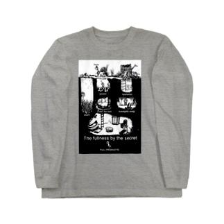 クワガタウサギ基地 Long sleeve T-shirts