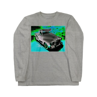 CHEVROLET 3100 Pick Up 1/25 ブルー文字入り Long sleeve T-shirts