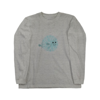 ハリセン子 Long sleeve T-shirts