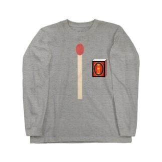 ミスマッチ Long sleeve T-shirts