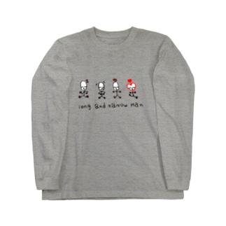 長細マン Long sleeve T-shirts