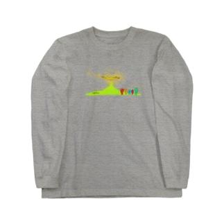 やまのぼり Long sleeve T-shirts