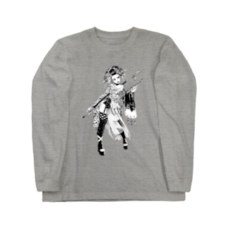 玄奘三蔵 Long sleeve T-shirts