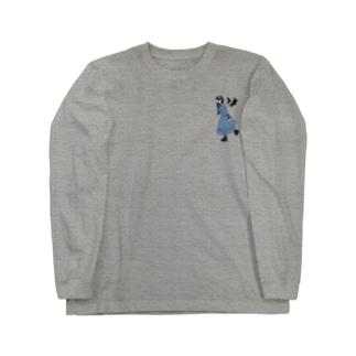 ゴスロリ女子/無地【一ノ瀬彩】 Long sleeve T-shirts