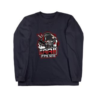新ロゴ「EAA(いぇあ)軍曹(仮)」 v2 ロングスリーブTシャツ