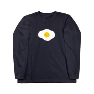 たまご ロングスリーブTシャツ
