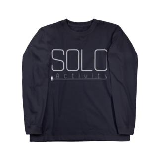SOLO Activity [White] ロングスリーブTシャツ