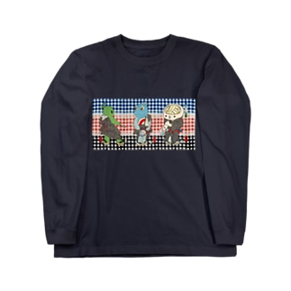 御あつらへ三色キャラ ロングスリーブTシャツ
