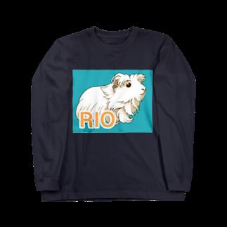 LichtmuhleのRIOちゃん ロングスリーブTシャツ