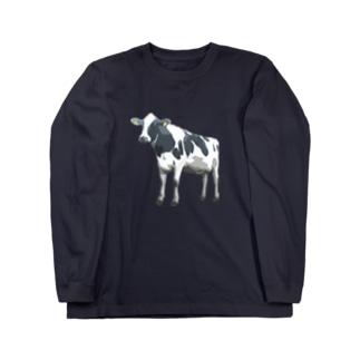 ホルスタイン2 ロングスリーブTシャツ
