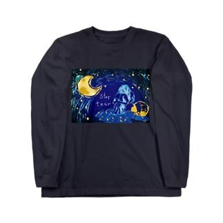 star tear ロングスリーブTシャツ