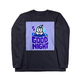 おやすみぽこにゃん ロングスリーブTシャツ