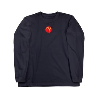 稲穂と日輪 ロングスリーブTシャツ
