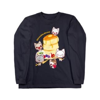 パンケーキパーティー ロングスリーブTシャツ
