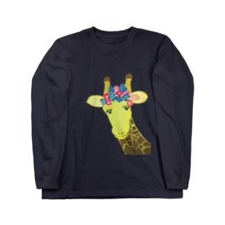 紫陽花のキリングッズ ロングスリーブTシャツ