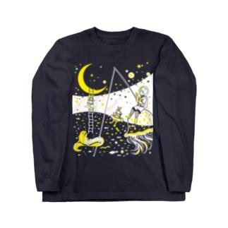 銀河バケーション ロングスリーブTシャツ