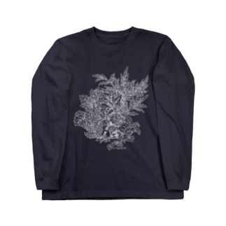 PygmyCat suzuri店のPygmyCat(白線ver)ロングスリーブTシャツ