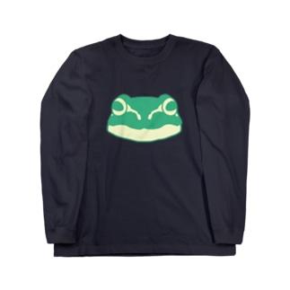 フロッグモーテルのシャチョー ロングスリーブTシャツ