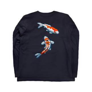 錦鯉 Long sleeve T-shirts