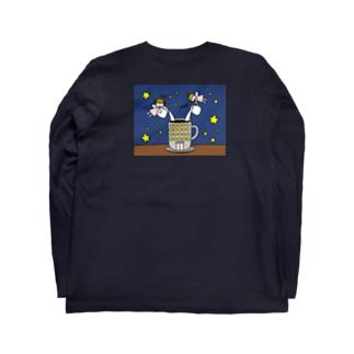 さかもとこのみのグッズやさんのブラック企業撲滅委員会 Long sleeve T-shirts