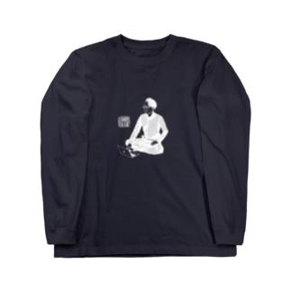 カウンターカルチャー_白 Long sleeve T-shirts