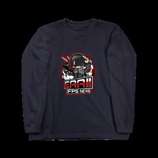 EAA!! Official Store - EAA!! 公式ストアの新ロゴ「EAA(いぇあ)軍曹(仮)」 v2 Long sleeve T-shirts